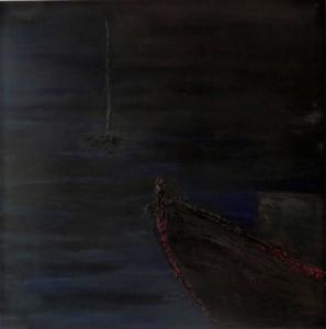 Nachtmeer - mer de nuit - night boat