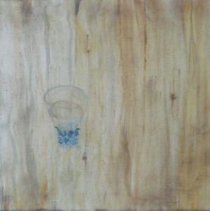 Wasserglas - un verre d'eau - glas of water